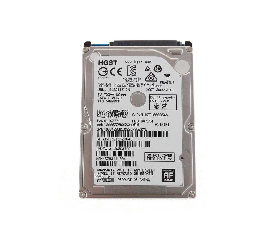 HGST 1TB Internal Hard Drive HDD 25 5400RPM SATAIII