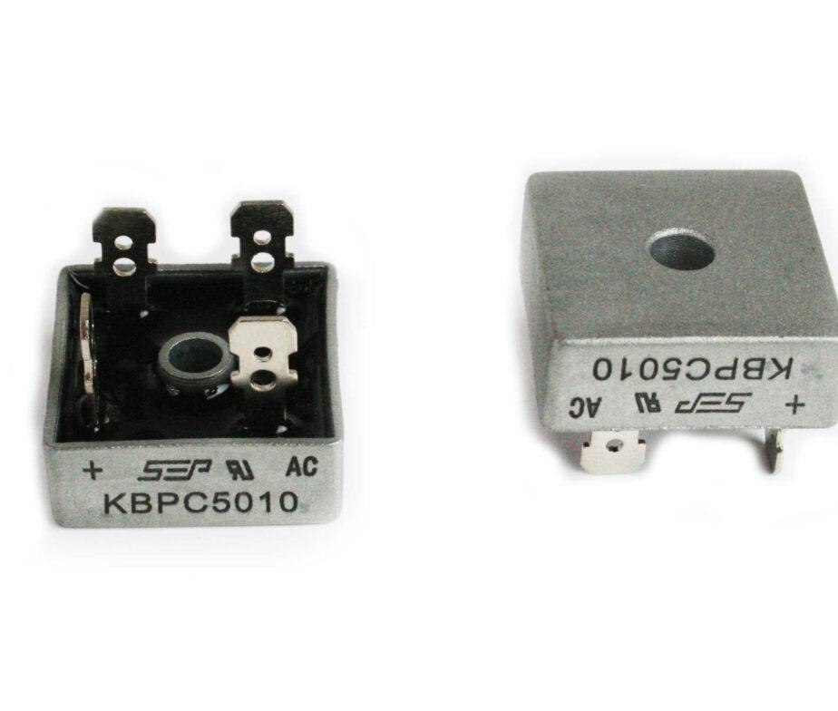 2x 1000V 50A Volt Bridge Rectifier 50 Amp Metal Case Diode Bridge