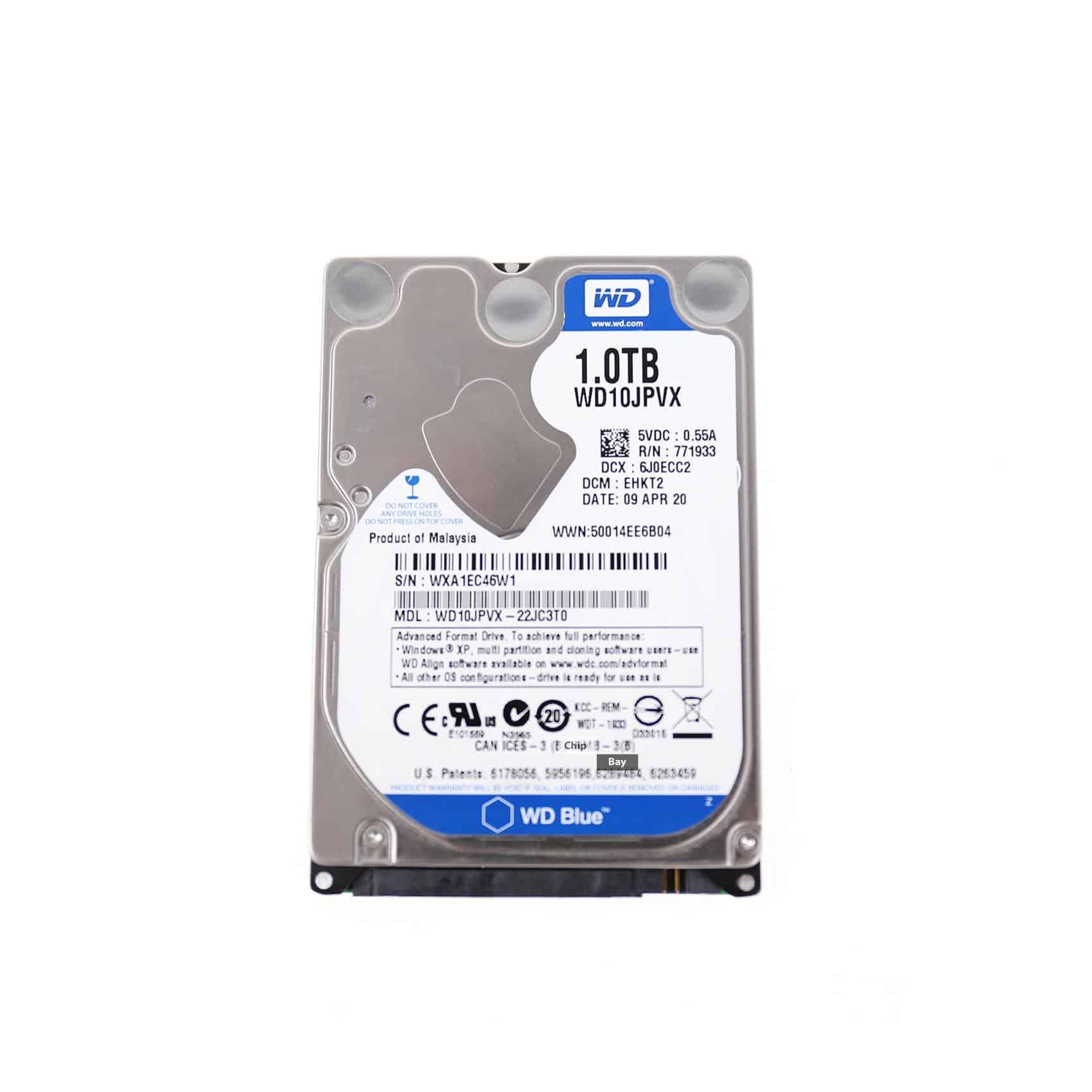 Genuine Wd Blue 1tb Laptop Ps3 Hard Drive Hdd 25 Sata Iii Wd10jpvx Harddisk Wb Hardisk Chipbay
