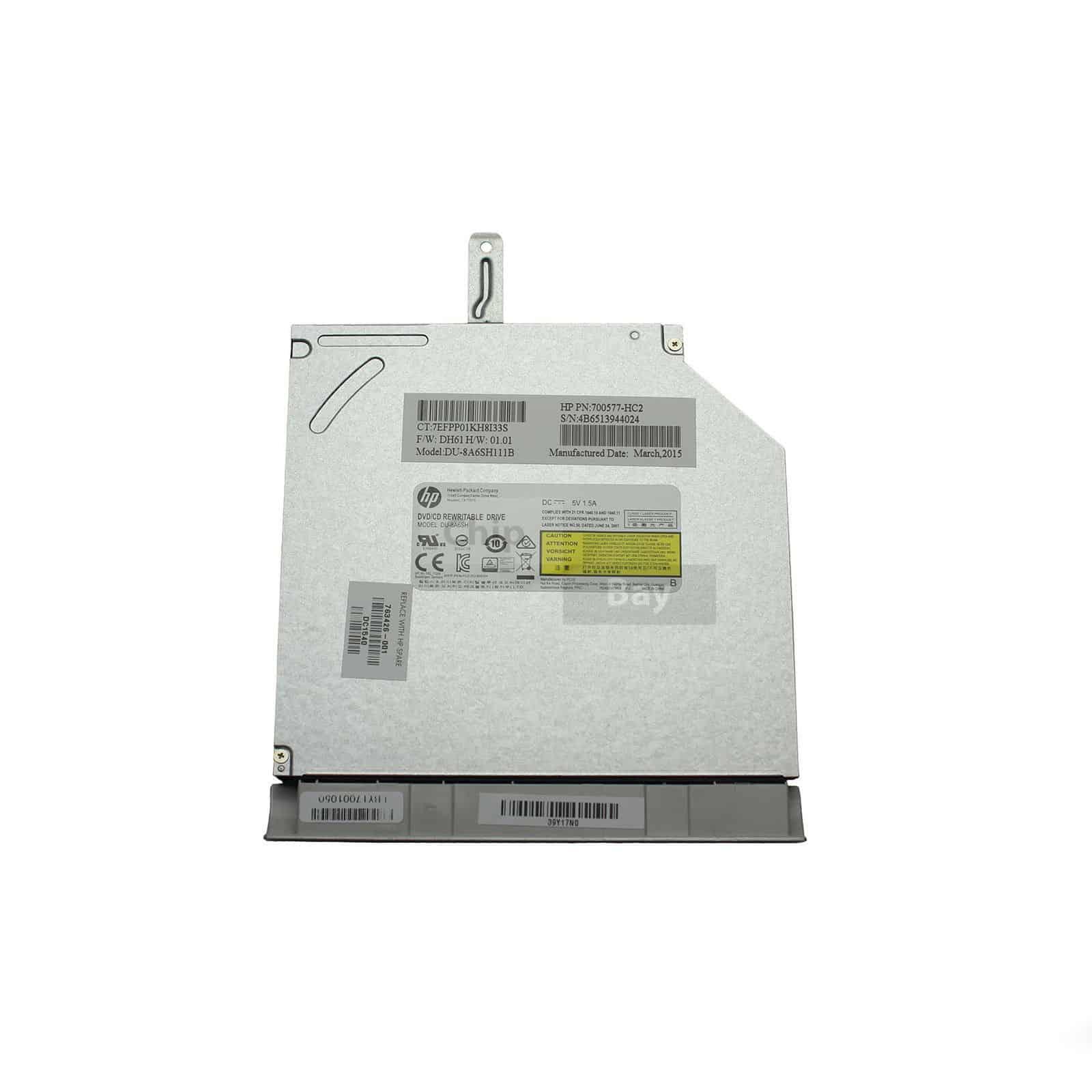 HP 17-F Series Laptop CD/DVD Optical Disk Drive - ChipBay