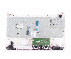 HP 15-AF112NA PALMREST KEYBOARD TOP CHASSIS COVER WHITE AM1EM000300 AM1EM000340 1