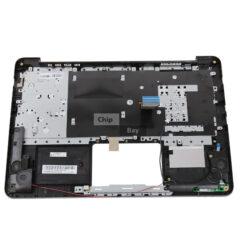 ASUS L402N Palmrest Top Base Cover Keyboard Dark Blue 13NB0V53AP0301 2