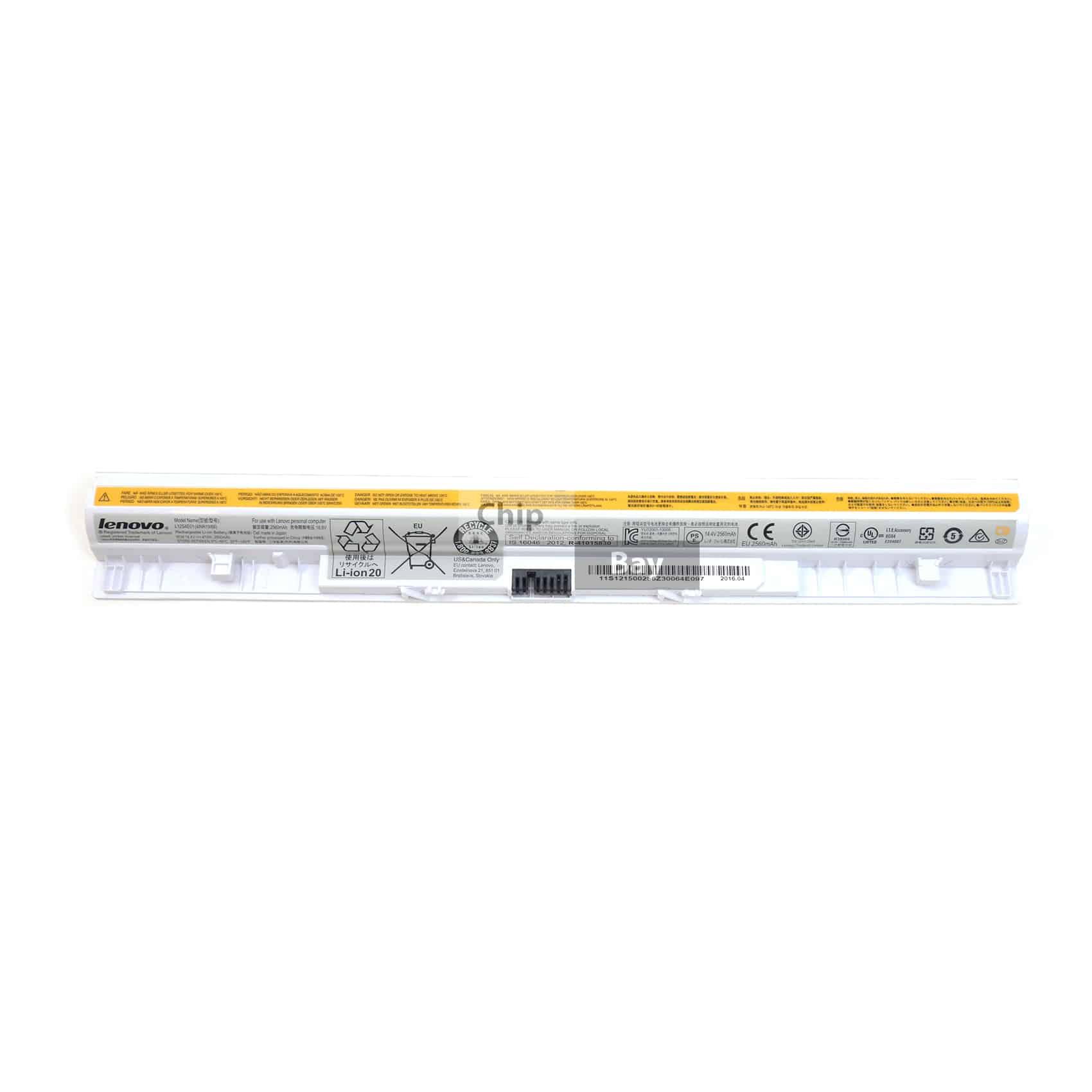 Genuine Lenovo Z50-75 Series Laptop Battery White 14.4V ...