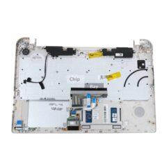 Toshiba Satellite S50-B S50D-B Palmrest Grey UK Keyboard Metal A000296840 1