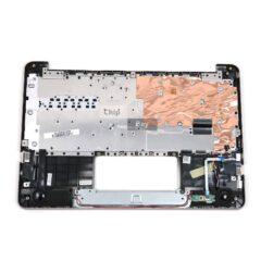 Genuine ASUS E200HA Palmrest Top Chassis Plastic Keyboard Gold 13NL0073AP0401 1