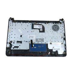 HP 14-AC Series Palmrest Black With Keyboard 1510B1782701 813513-031 1